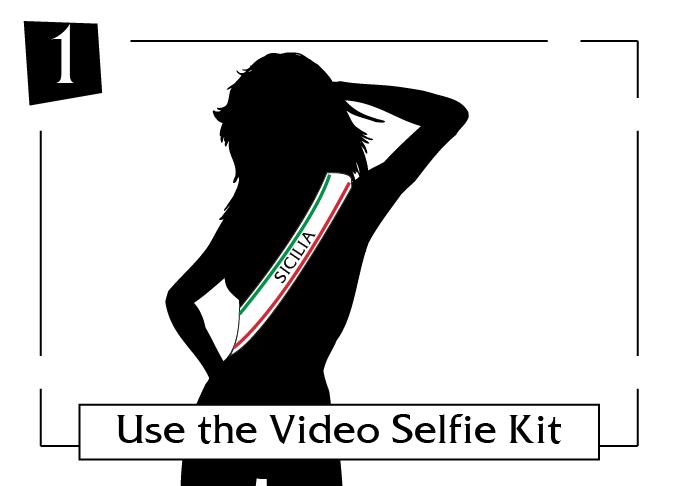 use the video selfie kit