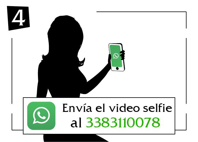 envia el video selfie sicilia al